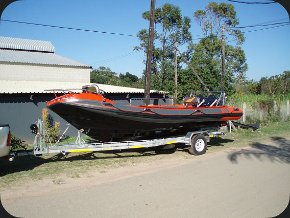 Rigid Inflatable Boat - 670F