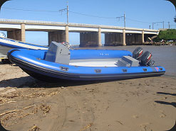 Rigid Inflatable Boat - 800FS